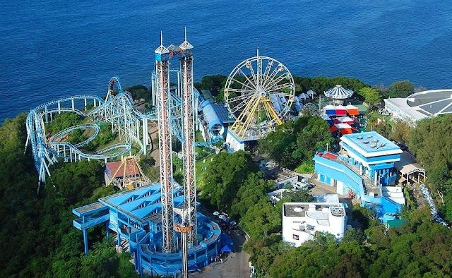 Tempat Wisata Hongkong Ocean Park