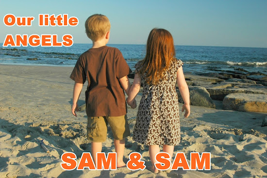 Samuel and Samantha - our little angels