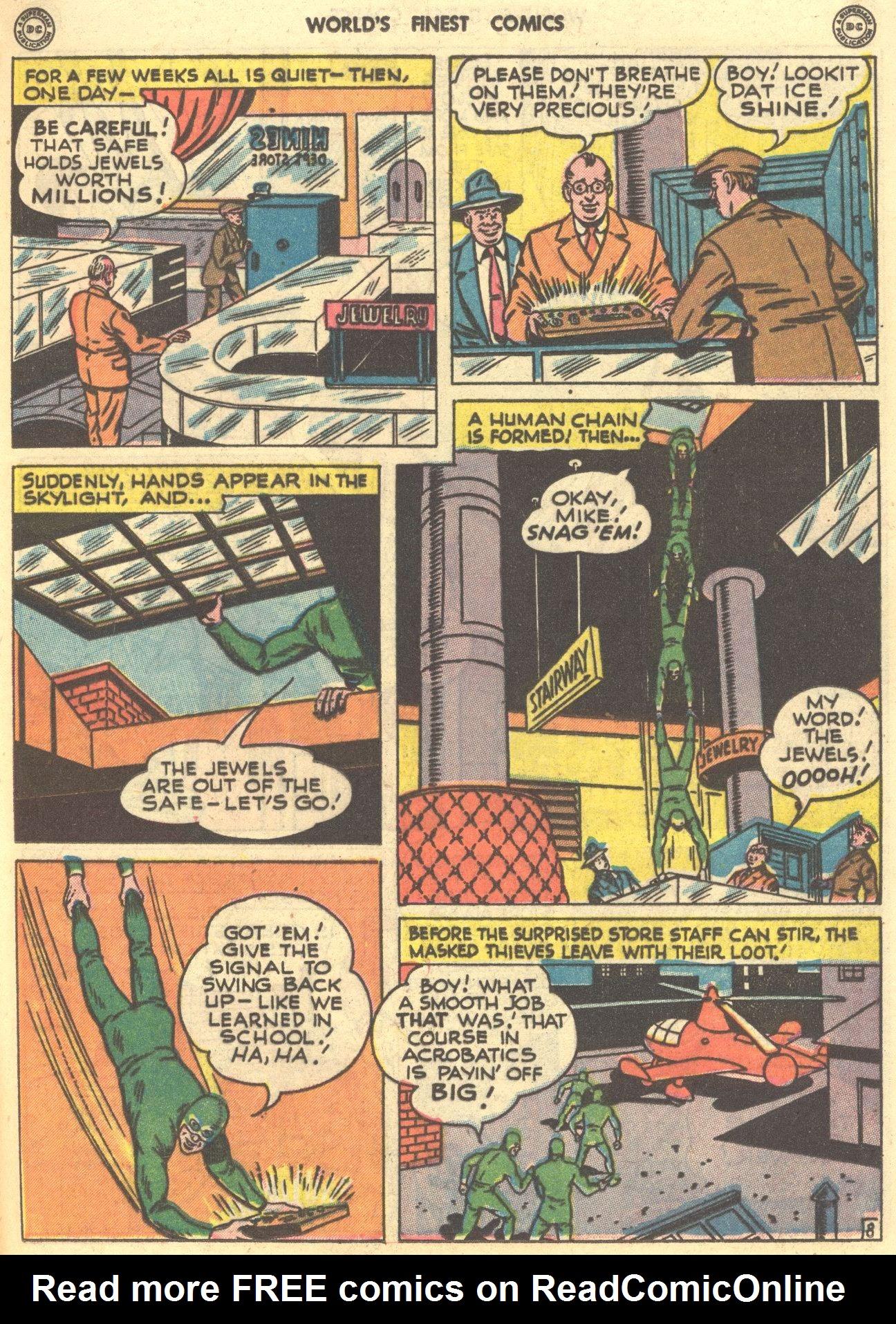 Read online World's Finest Comics comic -  Issue #28 - 36
