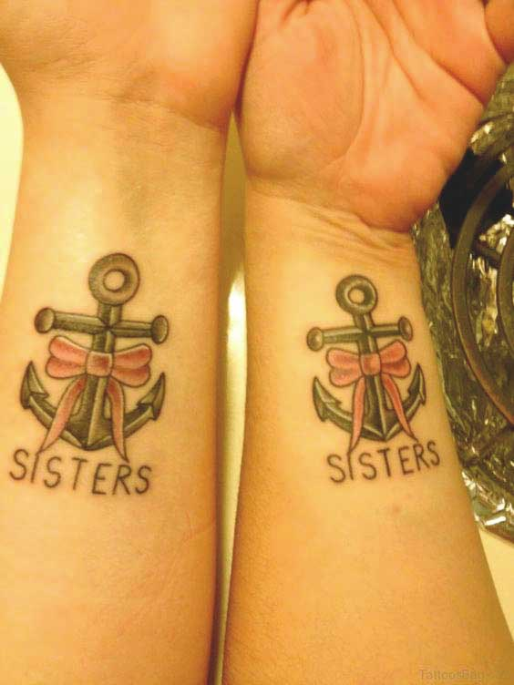 sister infinity tattoos