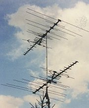 Two antennas one output