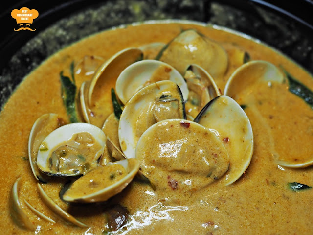 Creamy Butter Chilli and Curry Leaves Clams