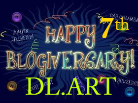 DL.ART 7 Year Blogiversary