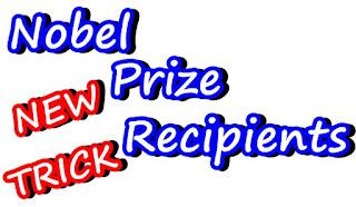 Trick - नोबेल पुरस्कार प्राप्त भारतीयS