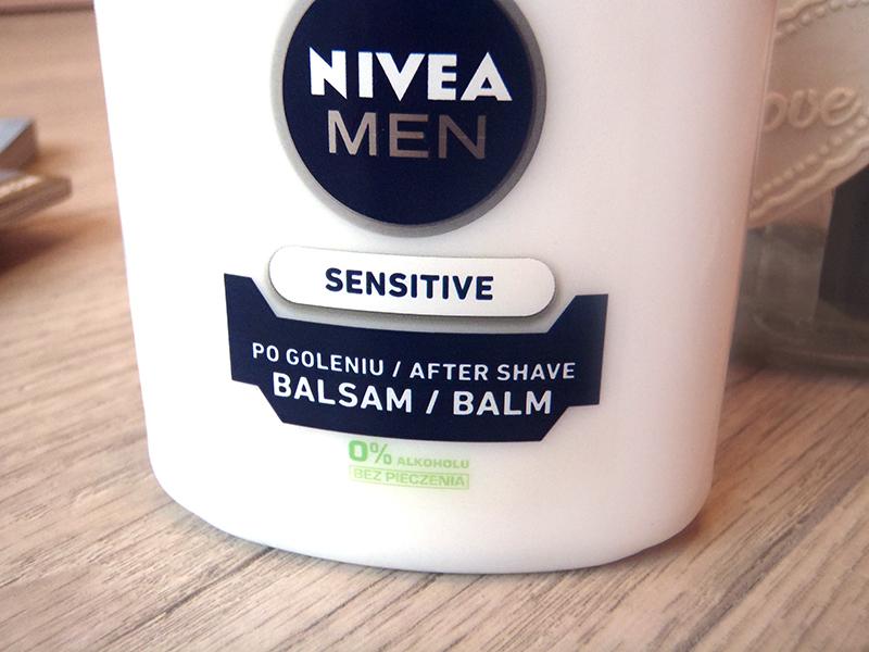 Nivea balsam po goleniu, balsam po goleniu bez alkoholu, balsam jako baza