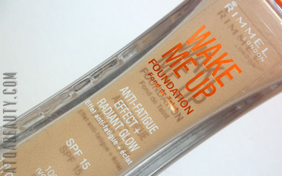 Rimmel, Wake Me Up Foundation, Anti-Fatigue Effect + Radiant Glow, SPF 15