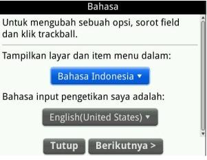 Cara Cepat Install Bahasa Indonesia Di Blackberry