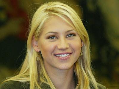 Hot Tennis Star, Russian - American Citizen Anna Kournikova Wallpapers