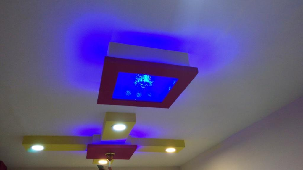 Learn New Things: Simple & Beautiful False Ceiling Design with Lights