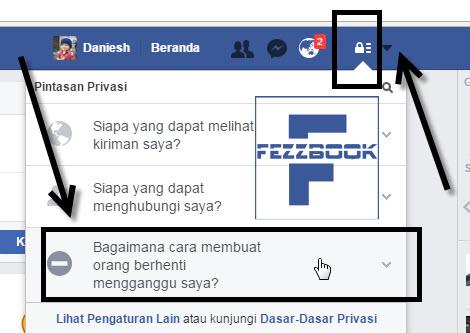 cara blokir teman facebook terbaru