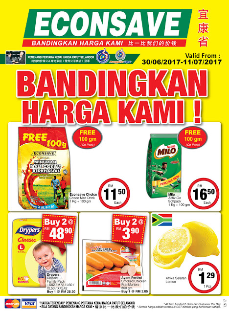 Econsave Malaysia Catalogue Discount Offer Promotion