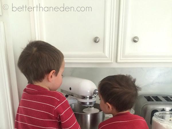 Scenes From a Lenten Pretzel Making