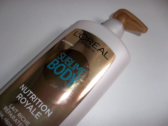 Lait Riche Réparateur Nutrition Royale - Sublime Body - L'Oréal
