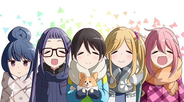 5 Anime yang Mirip Yuru Camp