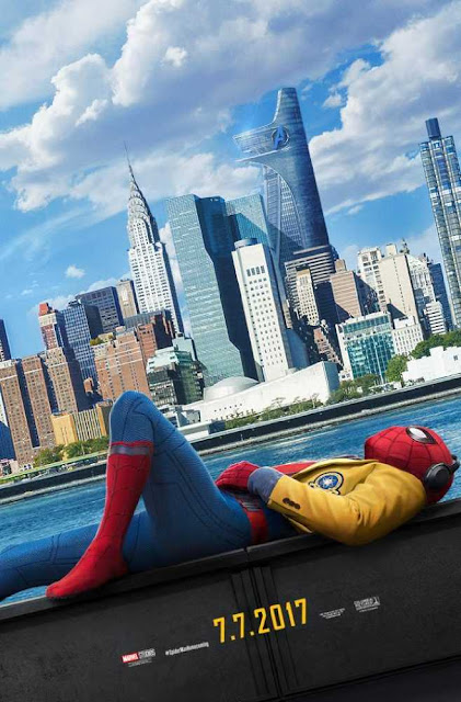 Poster Spider-Man Homecoming 2017 Full Movie Download Dual Audio Hindi