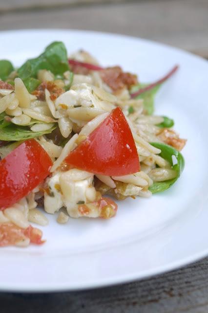 Kritharaki-Salat | Rezept | Essen | Beilage | Grillen