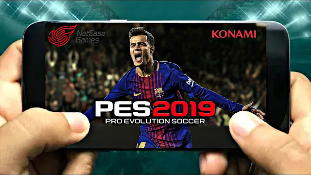 PES 2019 Mobile MOD FTS Android 300 MB HD Graphics Offline