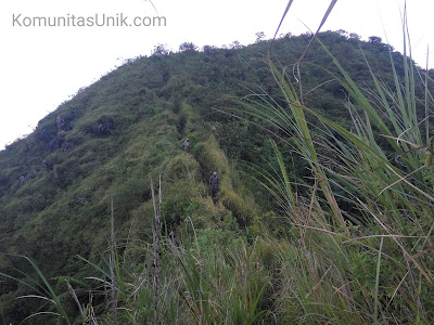 Punggung Naga Gunung Kelud via mBlitar