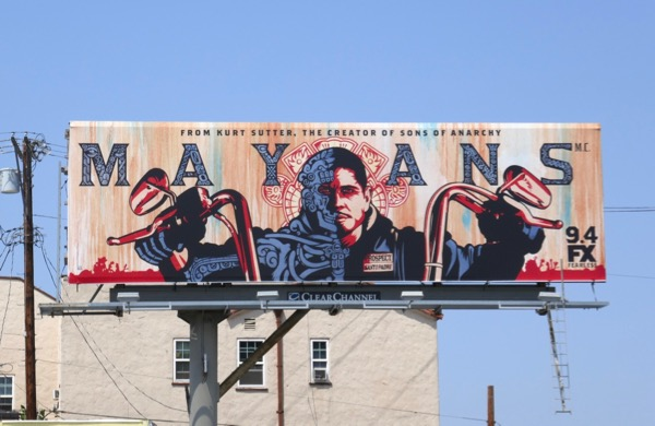 Mayans MC fx series billboard