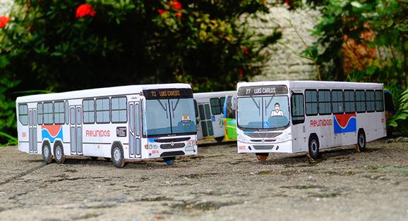 Santarém recebe duas unidades do Reunidas Transportes Urbanos