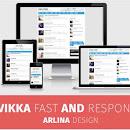 Vikka Fast v2 Responsive Fast Loading Blogger Template Download
