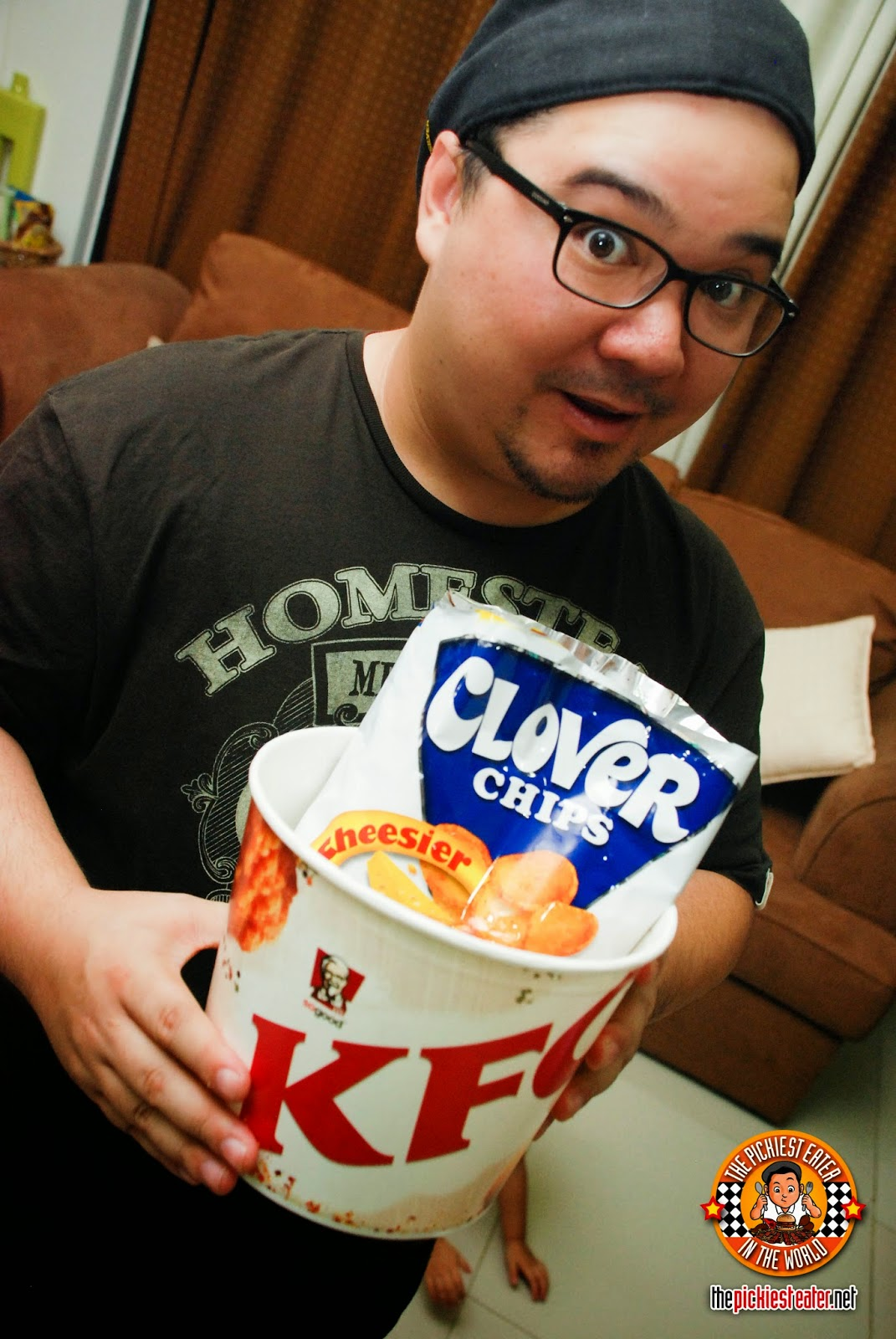 kfc and clover chips