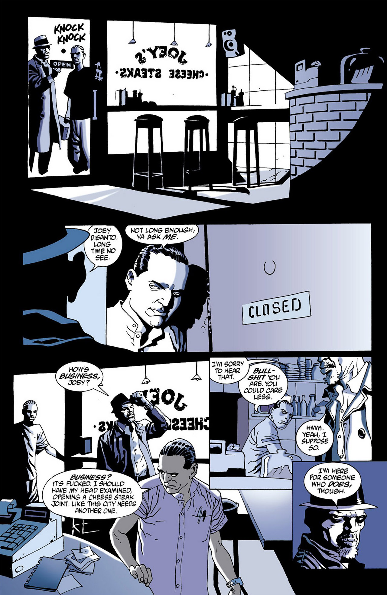 Read online 100 Bullets comic -  Issue #16 - 14
