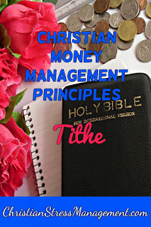 Christian money management Tithe