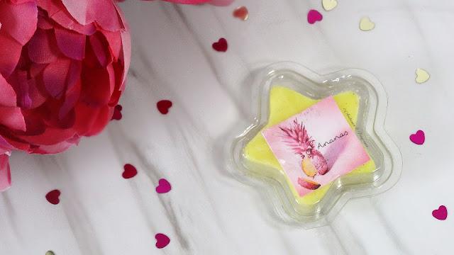 avis étoile fondante parfumée Ananas de MySweetiesCandles