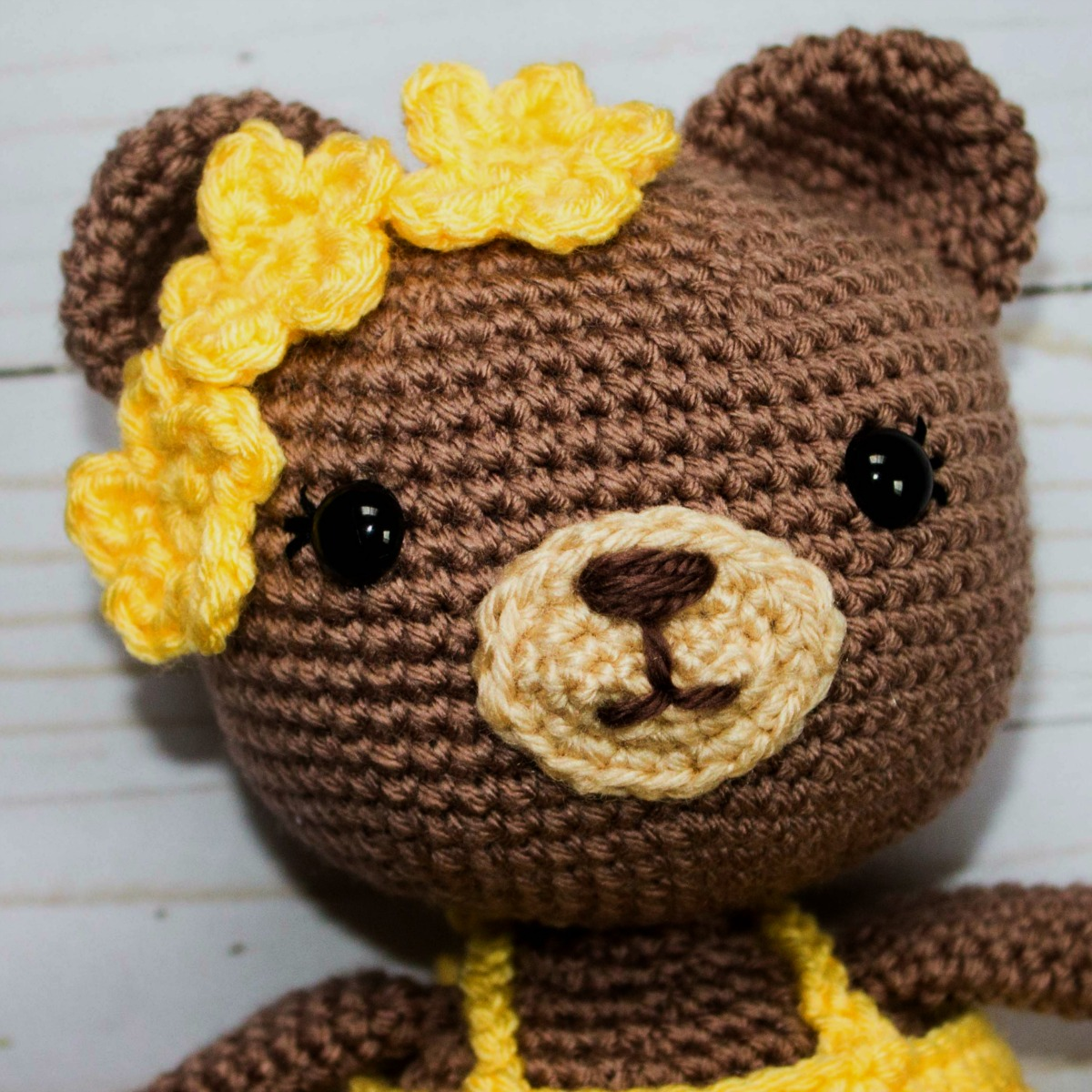 Crochet Teddy Bear Pattern | Crochet teddy bear pattern, Crochet ... | 1200x1200