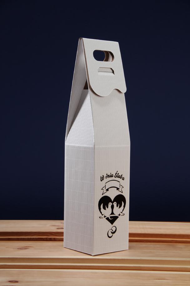 Pudełko na ślub z winem PS3