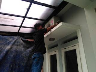 Langkah langkah dalam standar opersional pasang ac yang baik dan benar sesuai uji kopetensi keahlian instalasi unit AC.