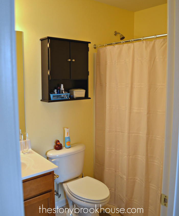 Bathroom After - Painted