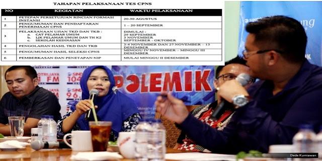 FHK2I: Jadwal Pengangkatan Honrorer Setelah Revisi UU ASN 2017