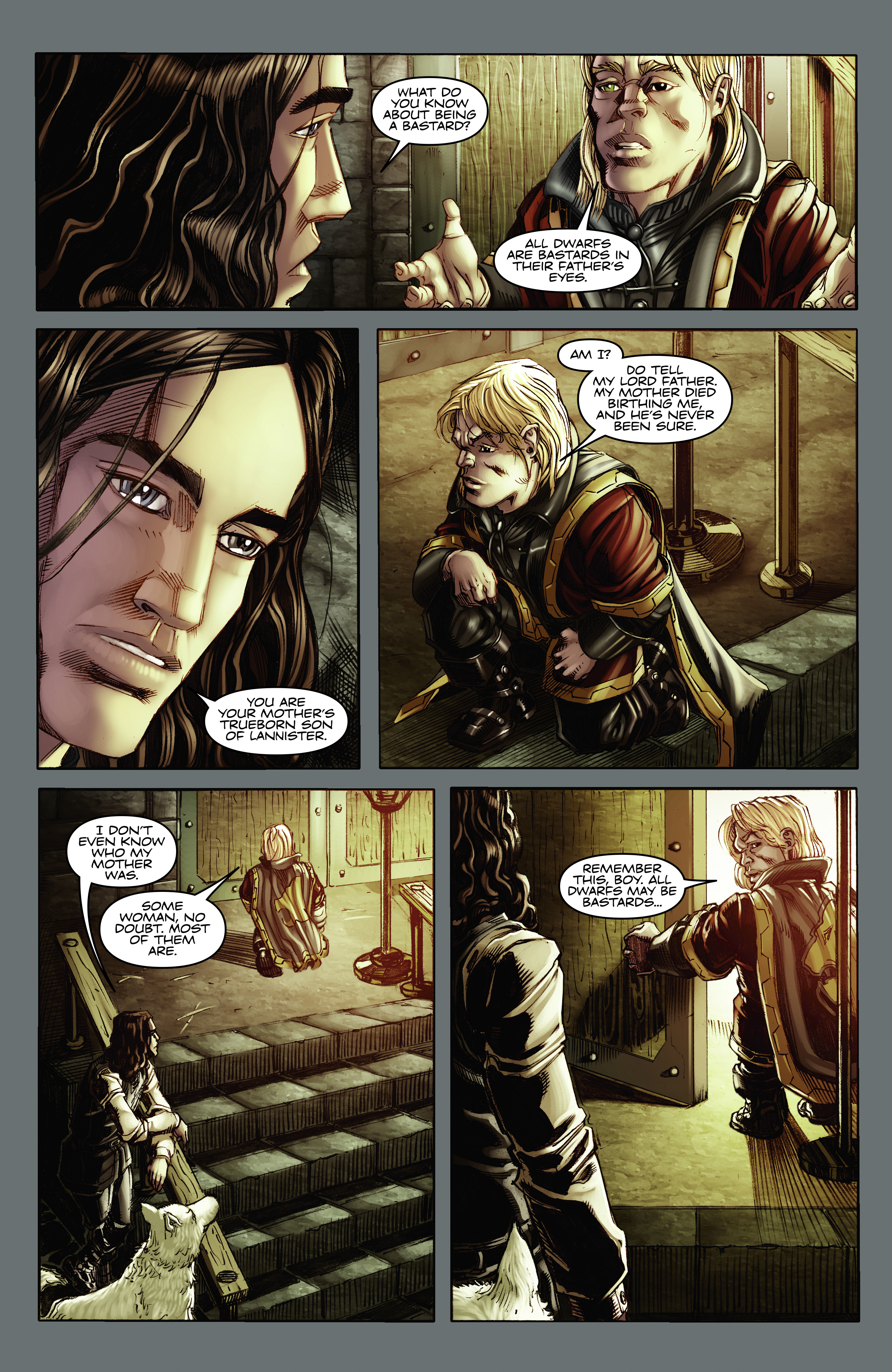 Read online A Game Of Thrones comic -  Issue #2 - 20