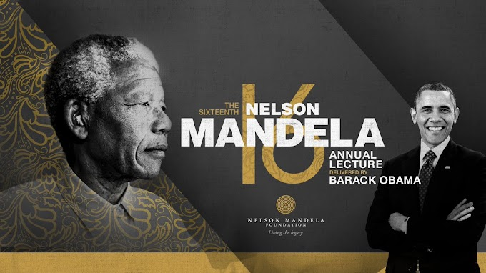Obama to speak at Mandela lecture