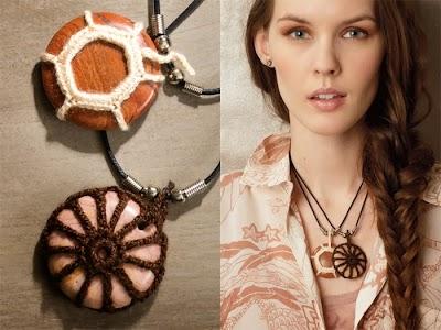 Crochet con Madera. Una buena Pareja