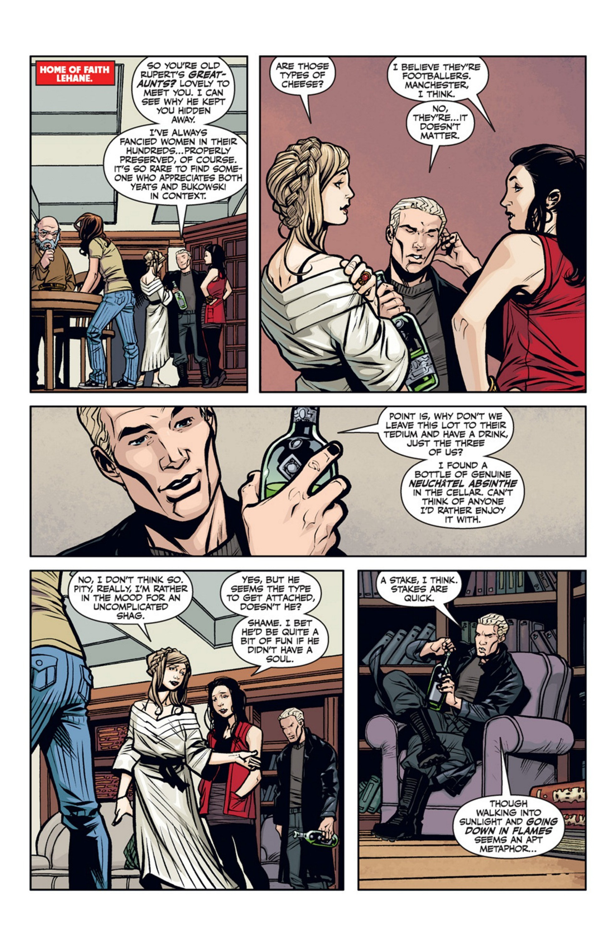 Read online Angel and Faith comic -  Issue #20 - 18