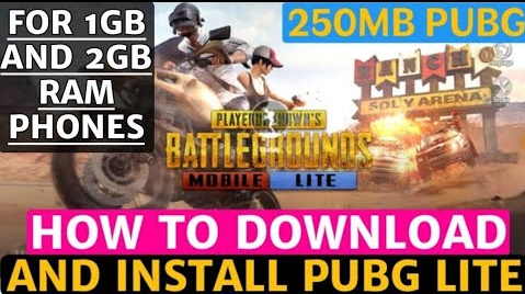 How to download and Install PUBG lite mobile in 1GB RAM