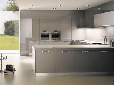Una Cocina Gris Decoracion - Cocinas-en-gris