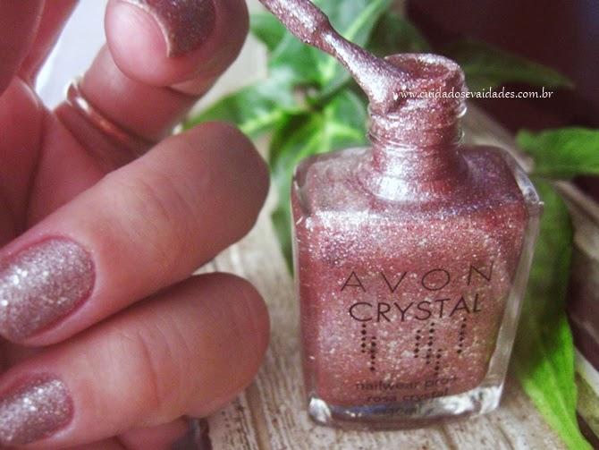 Esmalte Rosa Crystal Avon