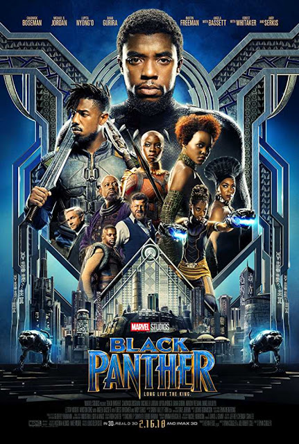 Poster Black Panther 2018 Full HD Movie Download Hindi Dubbed 720p