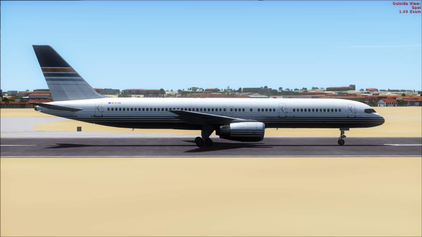 FlyRepaints : TDS- Boeing 757-200 Privilege Style EC-HDS