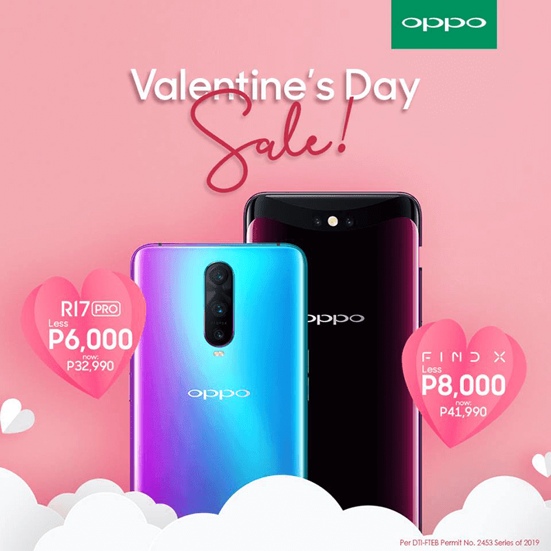 Sale Alert: OPPO announces Find X and R17 Pro Valentine's sale!