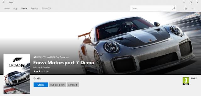 Forza Motorsport 7 Demo Microsoft Store | MotoGP 2017 Info, Video, Points Table