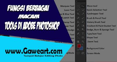 Fungsi Tool Pada Adobe Photoshop