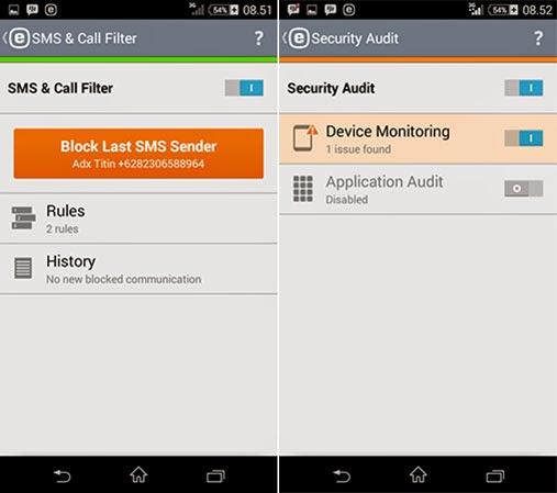 ESET Mobile Security Premium Full Version
