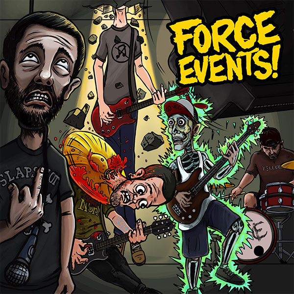 Force Events! stream Self-Titled EP