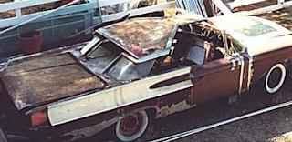 1956 Mercury XM Turnpike Cruiser
