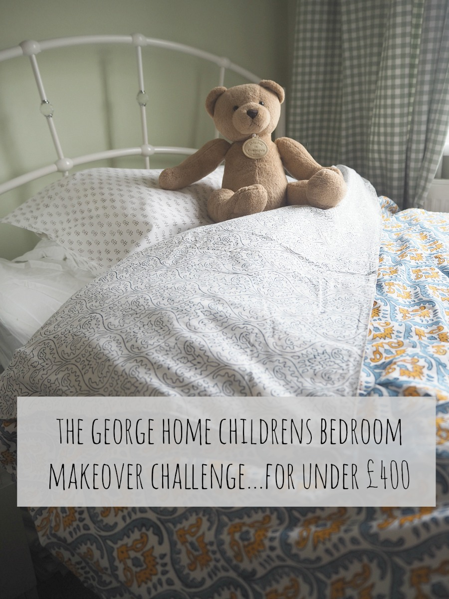 The George Home children's bedroom challenge for under £400